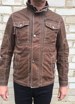 Куртка мужская коричневая redpoint