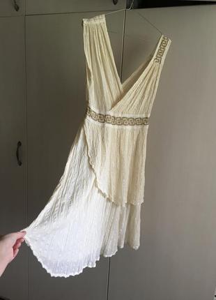 Платье сарафан в греческом стиле