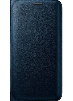 Чехол Samsung Galaxy S6 Edge Wallet Flip Cover Blue-Оригинал!!!