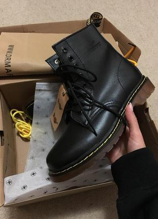 Женские dr. martens. высокие черные ботинки dr. martens. 37-41...