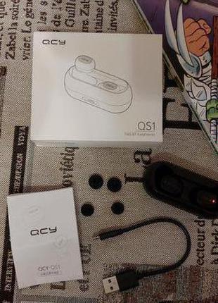 Bluetooth наушники QCY QS1 (T1)