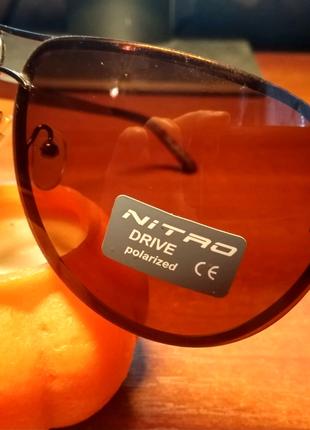 Очки солнцезащитные Nitro. Антибликовые.
