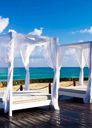 Пляжная, садовая кровать из ясеня. В наличии Одесса