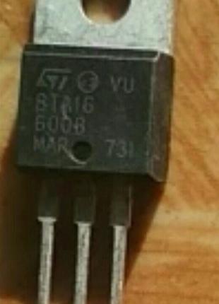 Тиристор BTA16-600 (2шт)