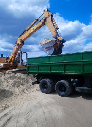 Щебень, песок, отсев - доставка по г. Белая Церковь и региону