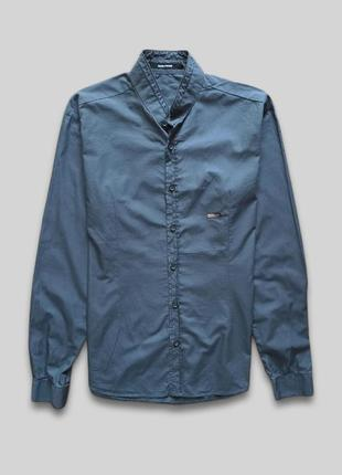Рубашка с китайским воротником takeshy kurosawa made in italy