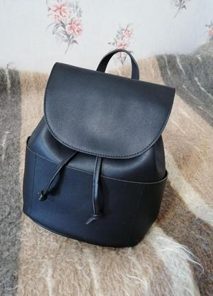 Черный рюкзак, женский рюкзак, большой рюкзак