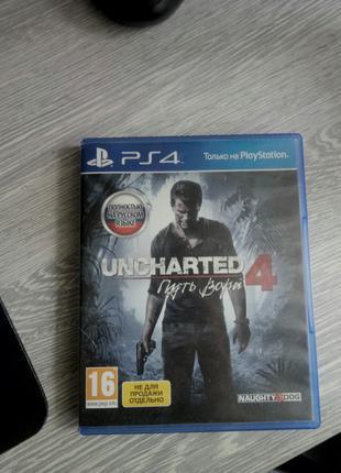 PS4 Uncharted 4 путь вора полностью на русском.