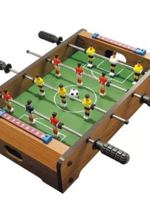Настольный Футбол деревянный на штангах