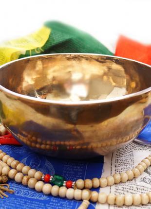 Чаша поющая кованная Индия (13-14 см)