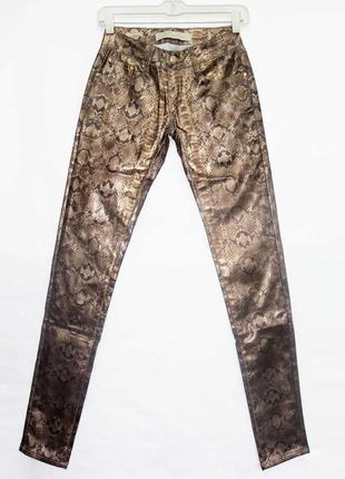 Новинка. классные брюки джинсы, принт питона. новые, все р-ры ...