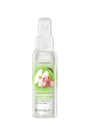 Лосьйон-спрей для тіла з ароматом свіжого яблука й жимолості (100
