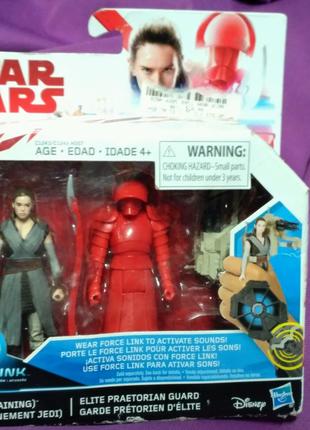 Звёздные воины Star wars Рей и Преторианец Disney Hasbro