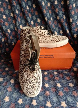 Ботинки мех пони