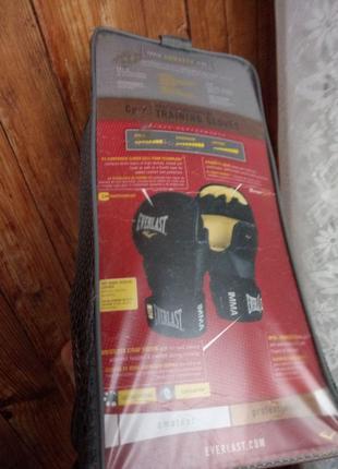 Суровые оригинальные Перчатки для ММА Everlast PRO STRIKING