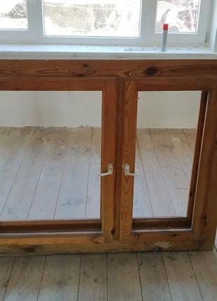 Вікна (окна, викна) деревяна двойна с коробкою
