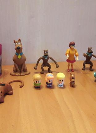 Игрушки Happy Meal McDonalds Скуби-ду Scooby Doo and the gang