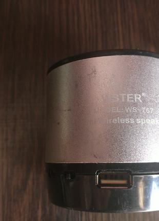 Bluetooth-колонка WSTER WS-767