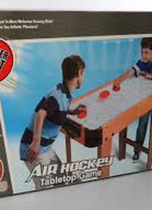 Деревянный настольный хоккей на ножках 2365, шкала ведения счета,