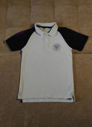 Детская футболка поло george , унисекс, размер  на возраст 7-8...