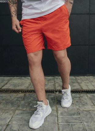 Пляжные шорты staff all orange