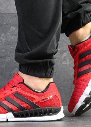 Мужские кроссовки adidas  climacool сетка дышащие стрейч
