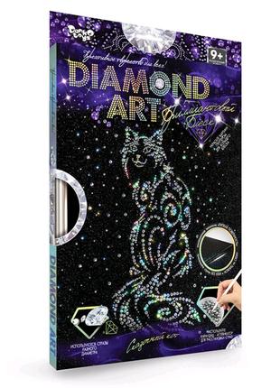 """Набор для креативного творчества """"DIAMOND ART"""", """"Кот"""""""