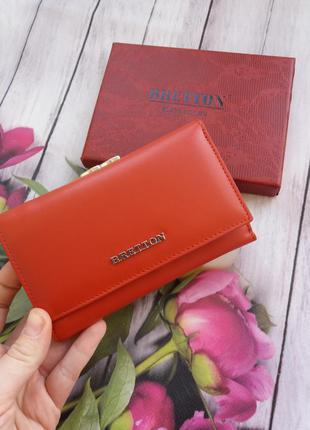 Женский кожаный кошелек bretton.  жіночий шкіряний гаманець