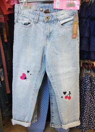 Джинсы на девочку, джинсы бойфренды