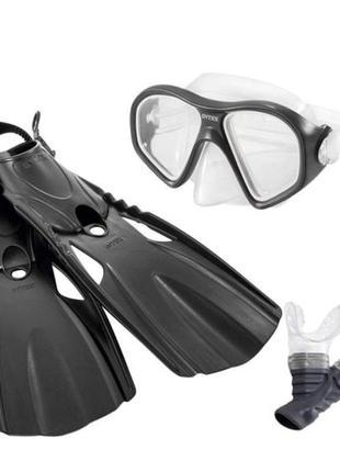 Набор для плавания 3в1 Intex 55657 (трубка, маска, ласты) от 14 л