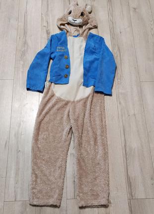 Детский костюм Зайца, Зайчика с Алисы в Стране Чудес на 7-8 лет