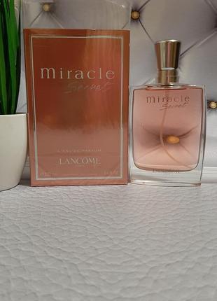 💥оригинал 💥100 мл lancome miracle secret парфюм нежнейший ,цве...