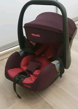 Автокресло RECARO Guardia (Power Berry) От 0 до 1