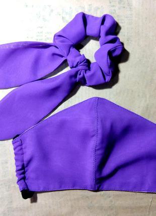 Комплект: защитная маска + резиночка твилли