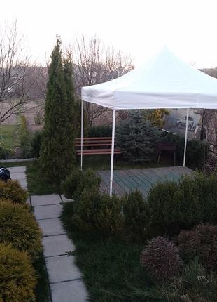 Складной шатер палатка беседка павильон прорезиненная крыша