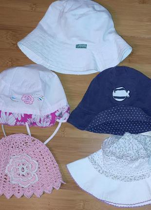 шапка для девочки на 0,5 - 2 года