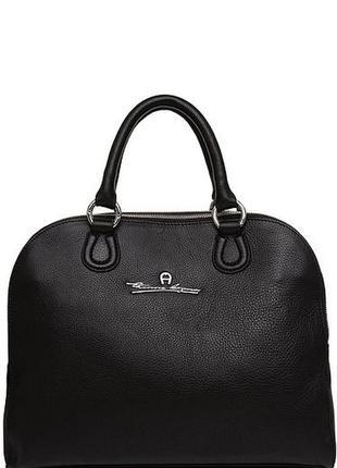 Добротная качественная кожаная сумка, натуральная кожа, люкс б...