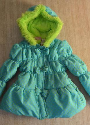 Куртка young hearts р. 4-6 лет