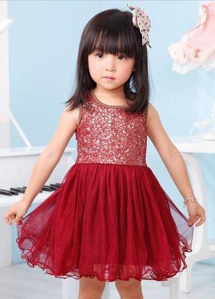 12-38 нарядное детское платье на выпускной праздник утренник ф...