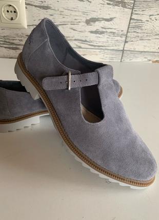 Замшевые туфли Clarks 41 р