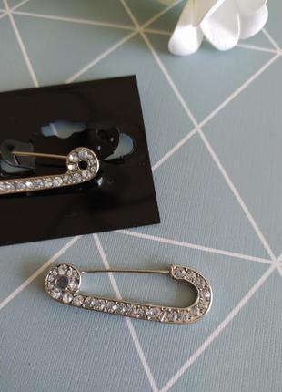 """Оригинальные серьги """"булавки"""" с кристаллами asos, сережки булавки"""