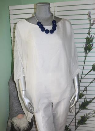Шелковая блуза оверсайз италия