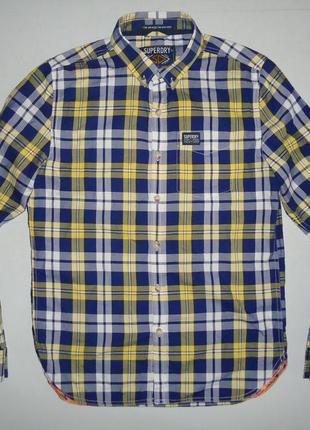 Рубашка superdry oxford jpn cotton m