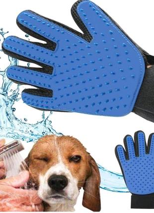 Перчатка для вычесывания собак и кошек