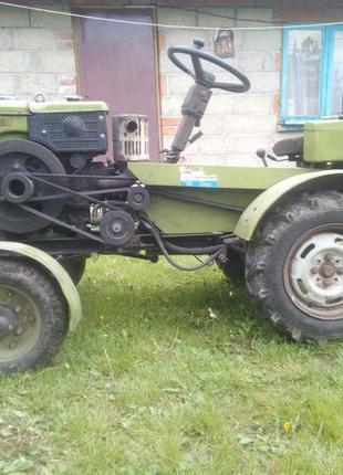 Міні трактор Zubr 12