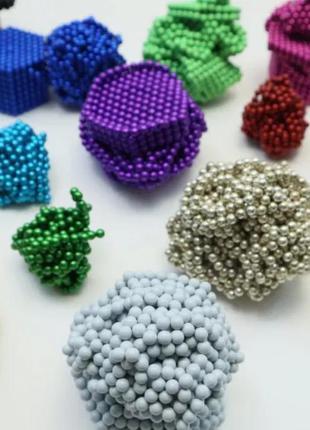 РАСПРОДАЖА! Магнитные шарики (неокуб neocube) 5мм 216 шт Б/У!