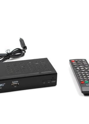 Цифровой тюнер DVB-T2 UKC 0968 с поддержкой wi-fi адаптера