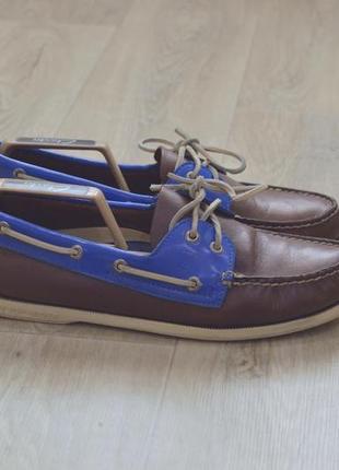 Sperry мужские туфли мокасины топ сайдеры кожа оригинал