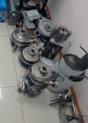Ремонт промышленных насосов, редукторов, эл.двигателей.