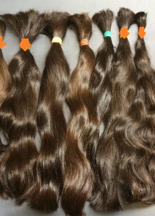 Волосы славянские натуральные не окрашенные не были в использован